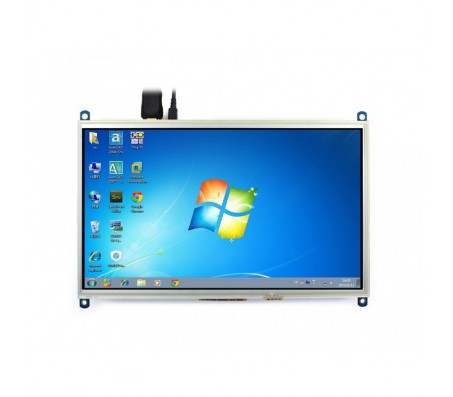 """10.1"""" HDMI LCD Display 1024×600 with Touch for Raspberry Pi"""