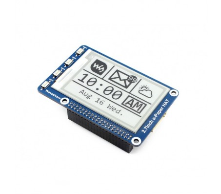 "2.7"" E-Ink display HAT for Raspberry Pi - 264x176"