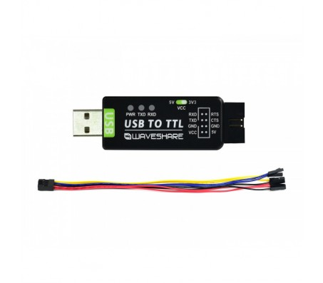 Industrial USB TO TTL Converter - FT232RL, Multi Protection & Systems Support