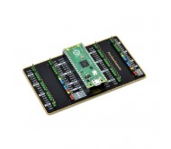 Dual GPIO Expander for Raspberry Pi Pico, Two Sets of Male Headers