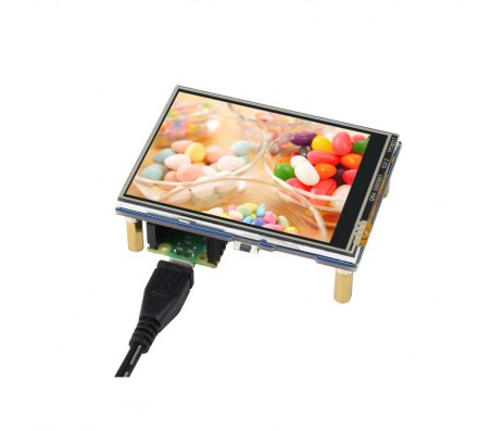 2.8inch Touch Display Module for Raspberry Pi Pico, 262K Colors, 320×240, SPI